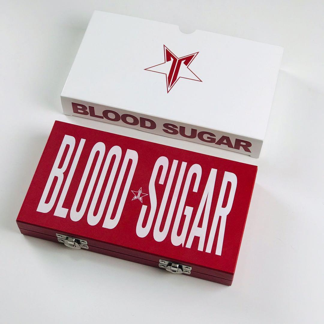 Jeffree Star Cosmetics Blood Sugar Palette - AUTHENTIC
