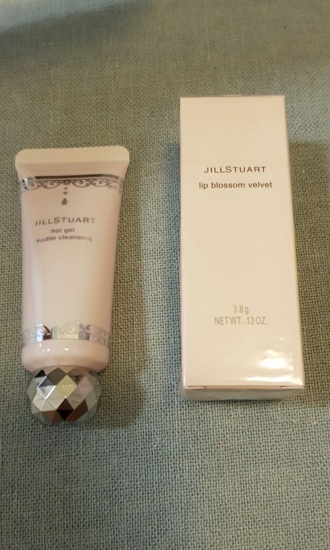 Jill Stuart Lip Blossom Velvet #9 and cleansing gel, Health