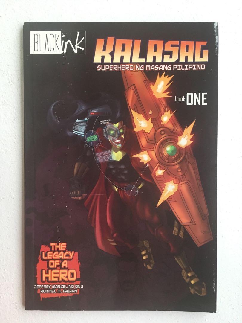 Kalasag: Superhero ng Masang Pilipino by Jeffrey Marcelino Ong and Rommel M. Fabian