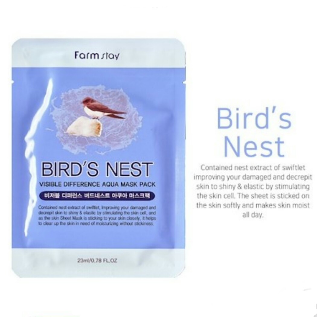 Korean Collagen Bird Nest Facial Masks