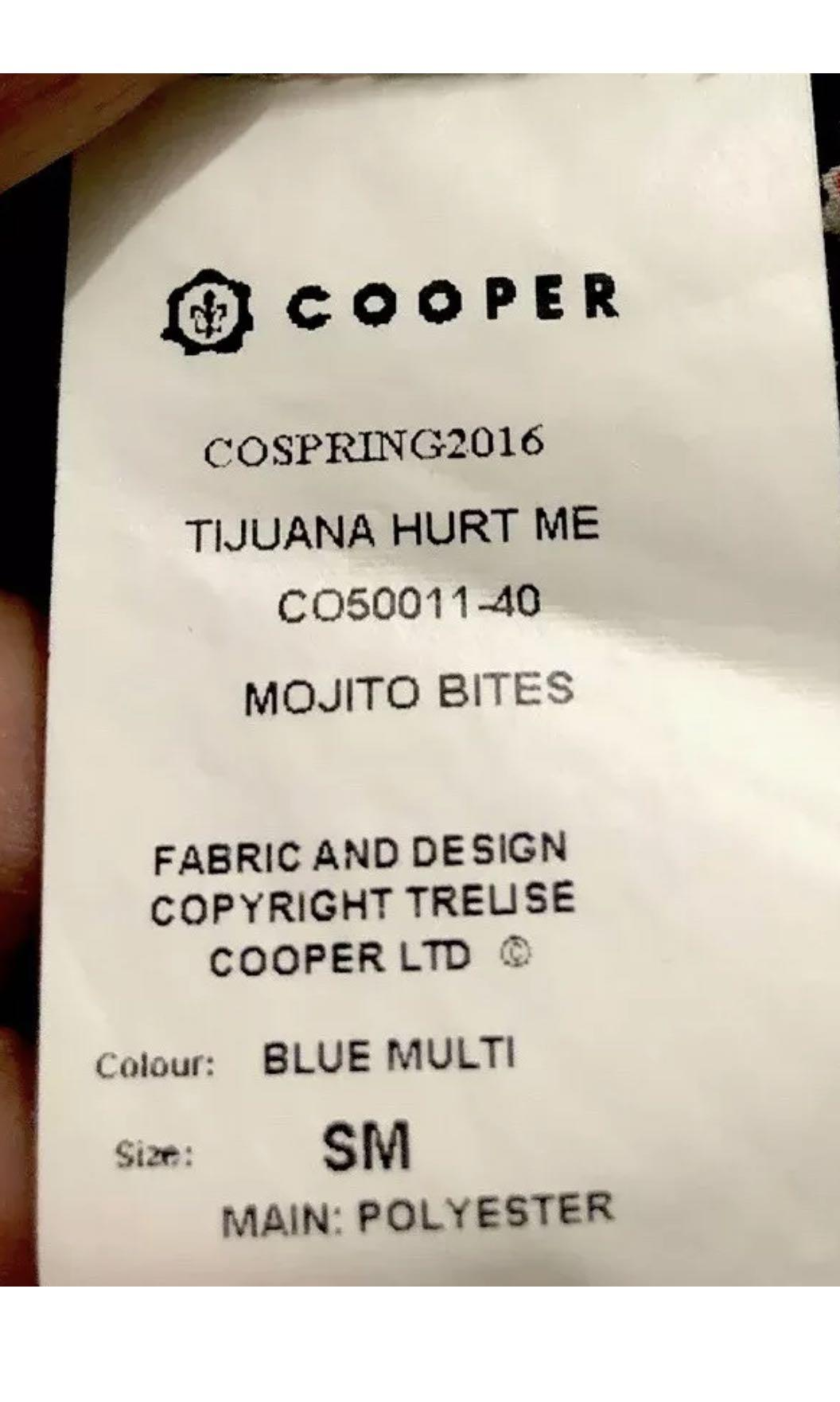 "Ladies TRELISE COOPER ""Mojito Bites"" Dress.  Size Small"