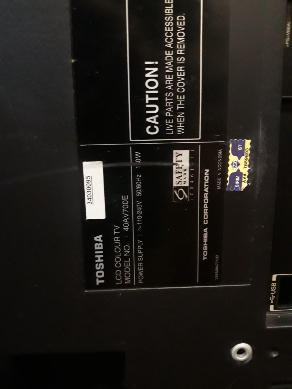 Mainboard Toshiba LCD TV