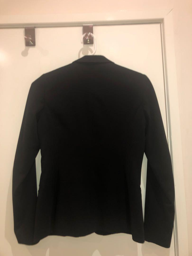 Buy 2 and get the 2nd 1/2 price Maison Scotch Scotch & Soda black blazer