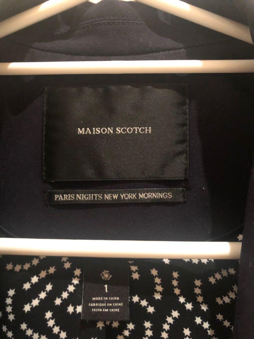 Buy 2 and get the 2nd 1/2 price Maison Scotch Scotch & Soda blazer navy