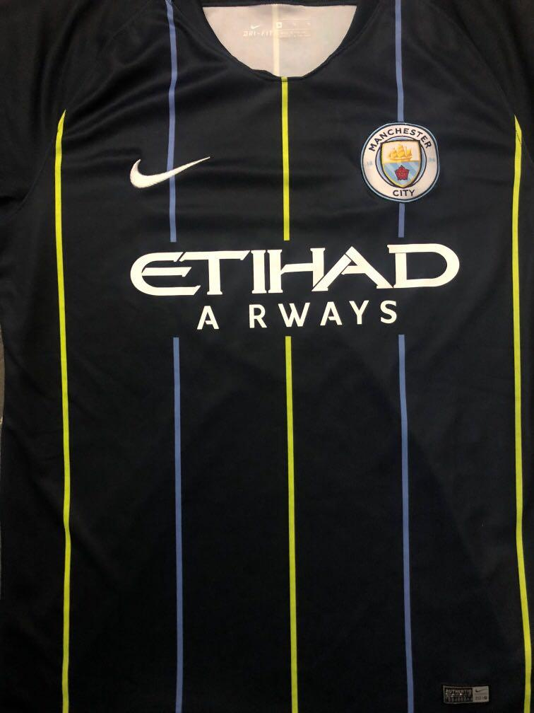 promo code 8c8f0 d1f08 Manchester City Jersey Away 18/19 on Carousell