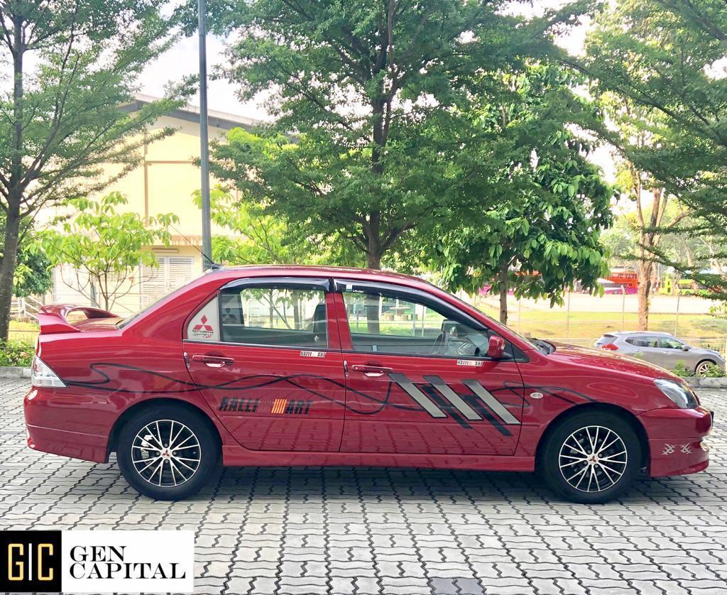 Mitsubishi Lancer 1.6A GLX Affordable Rental Car Svs, Grab Gojek Ryde Tada & Non PHV