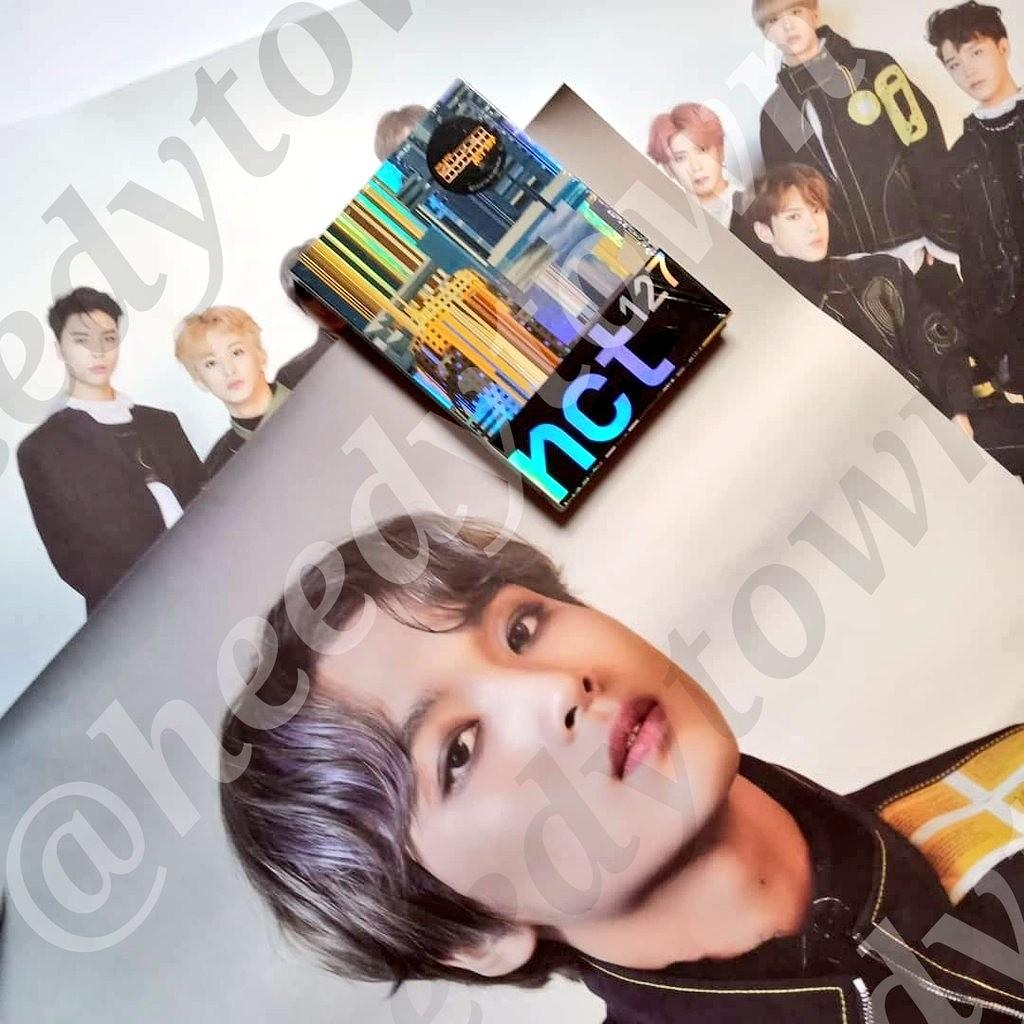 NCT127 - SUPERHUMAN With HAECHAN & GROUP Poster (Sealed)