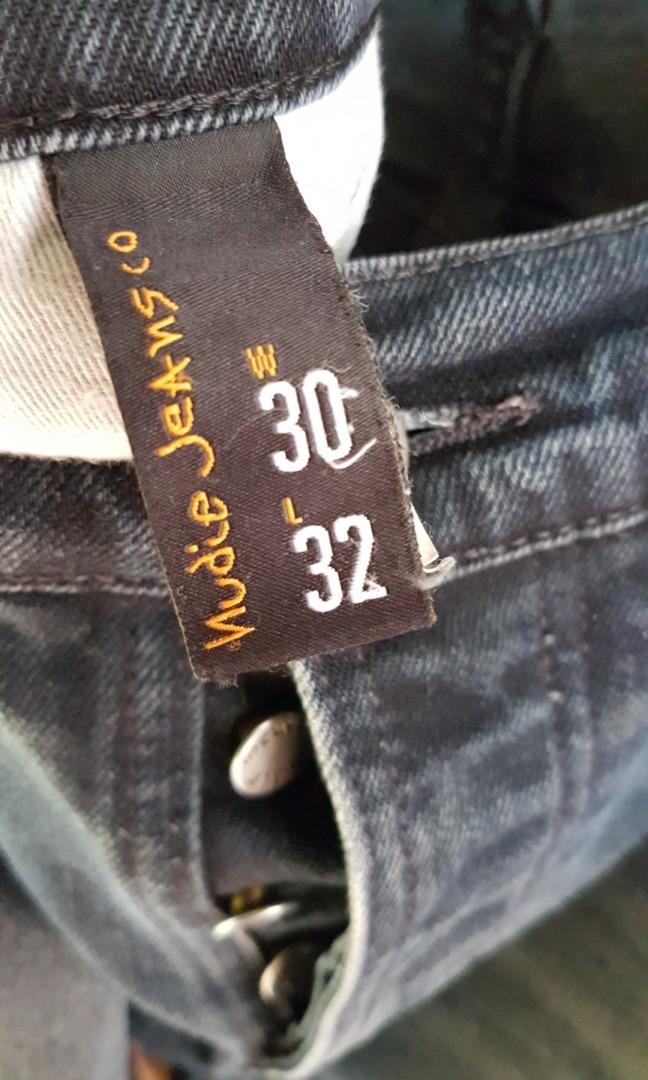 Nudie Jeans Grim Trim 11 Months Skinny Fit Blue 30/32