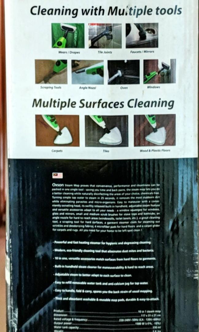 10-in-1 Steam Mop (Never Used)