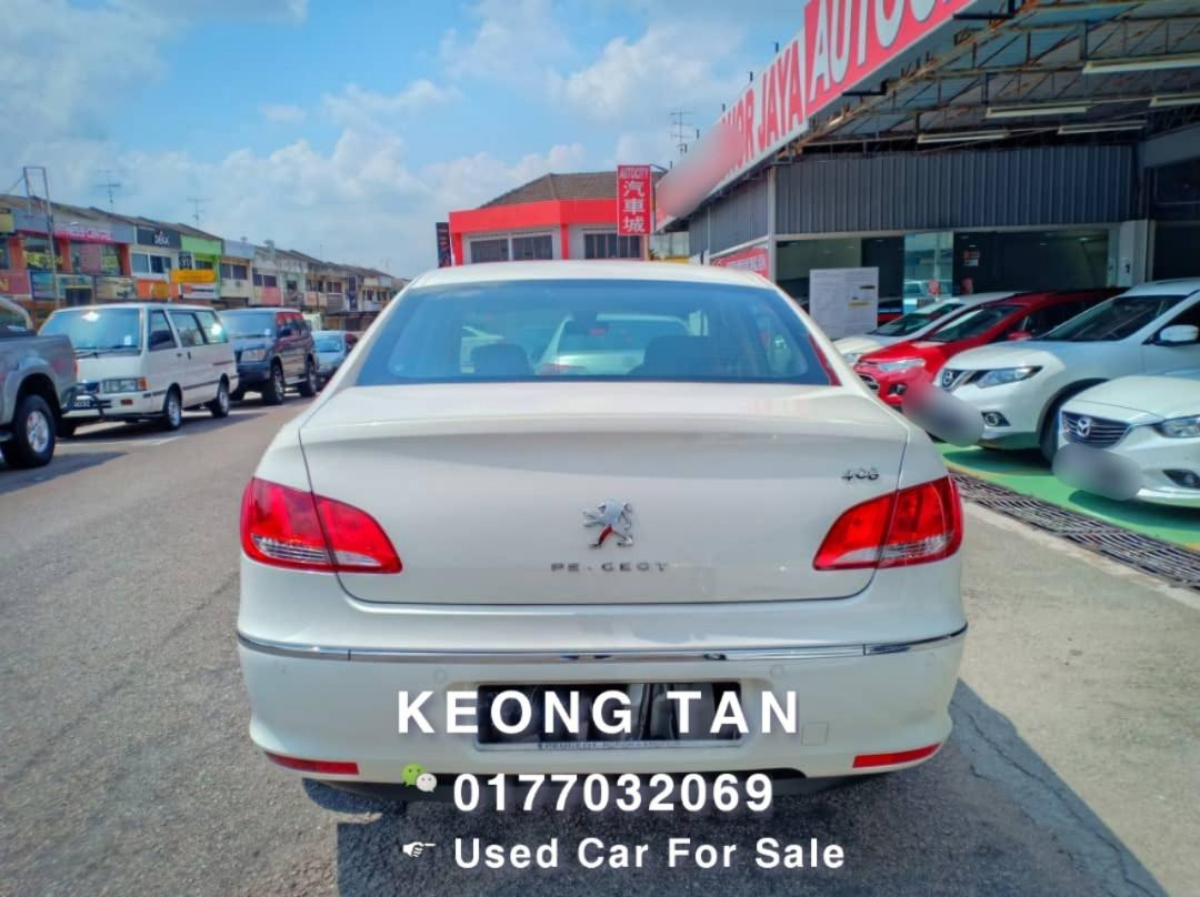 🚘PEUGEOT 408 2.0AT 2012TH Cash🎉Offer Price💲Rm22,800 Only‼ LowestPrice InJB🎉Call📲 Keong🤗Full Loan💰