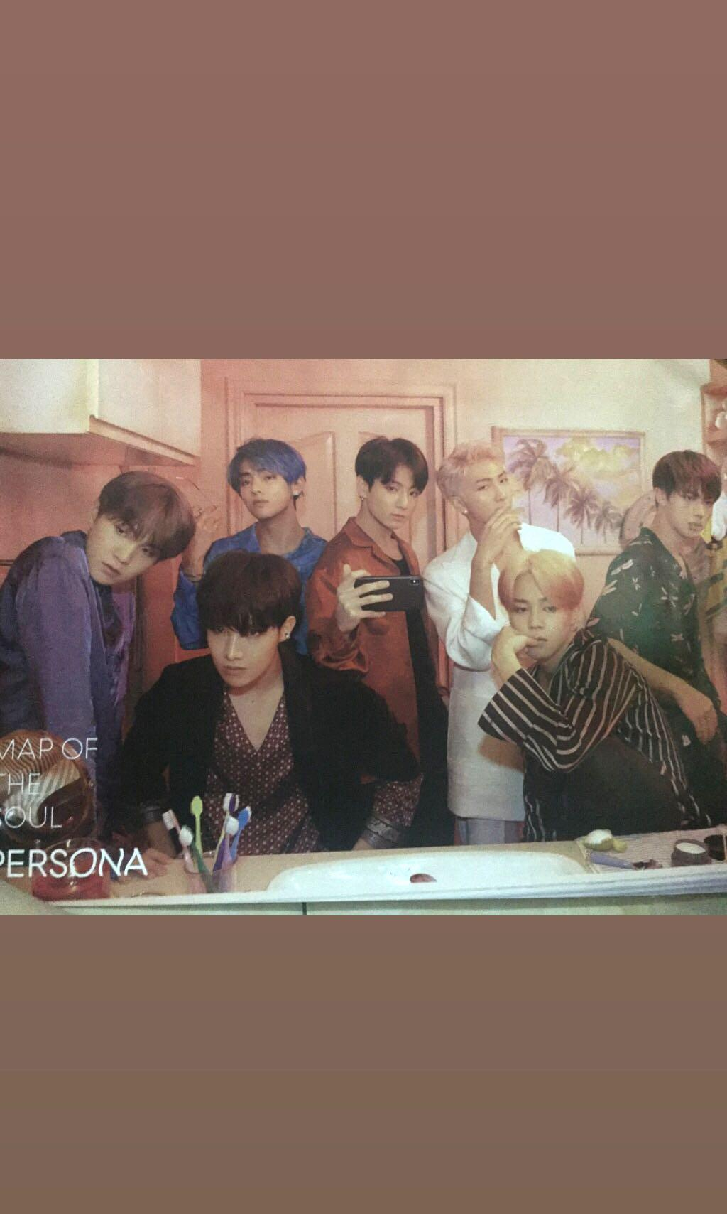 Poster BTS PERSONA : MAP OF THE SOUL (MOTS) VERSION 2