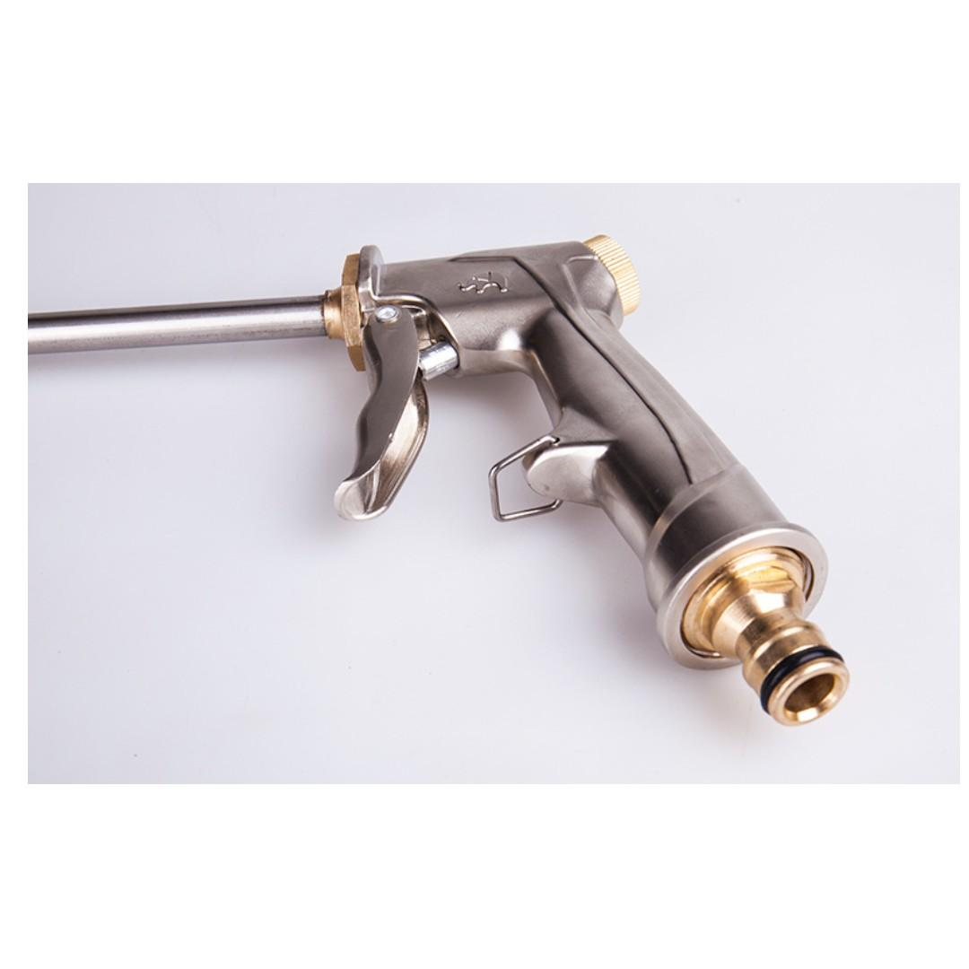 Powerful Long Reach Metal Spray Gun for Car Wash/Aircon Wash/Gardening