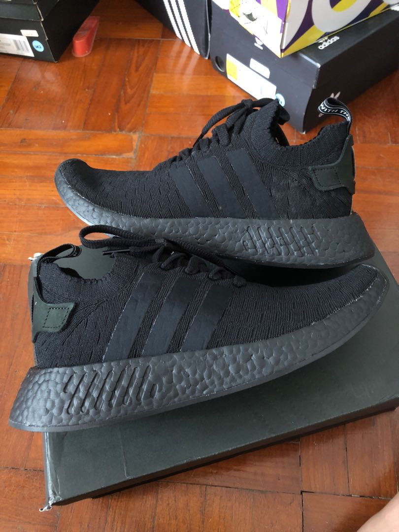 new style 32db2 0d200 🚨SALE🚨 Adidas NMD r2 triple black