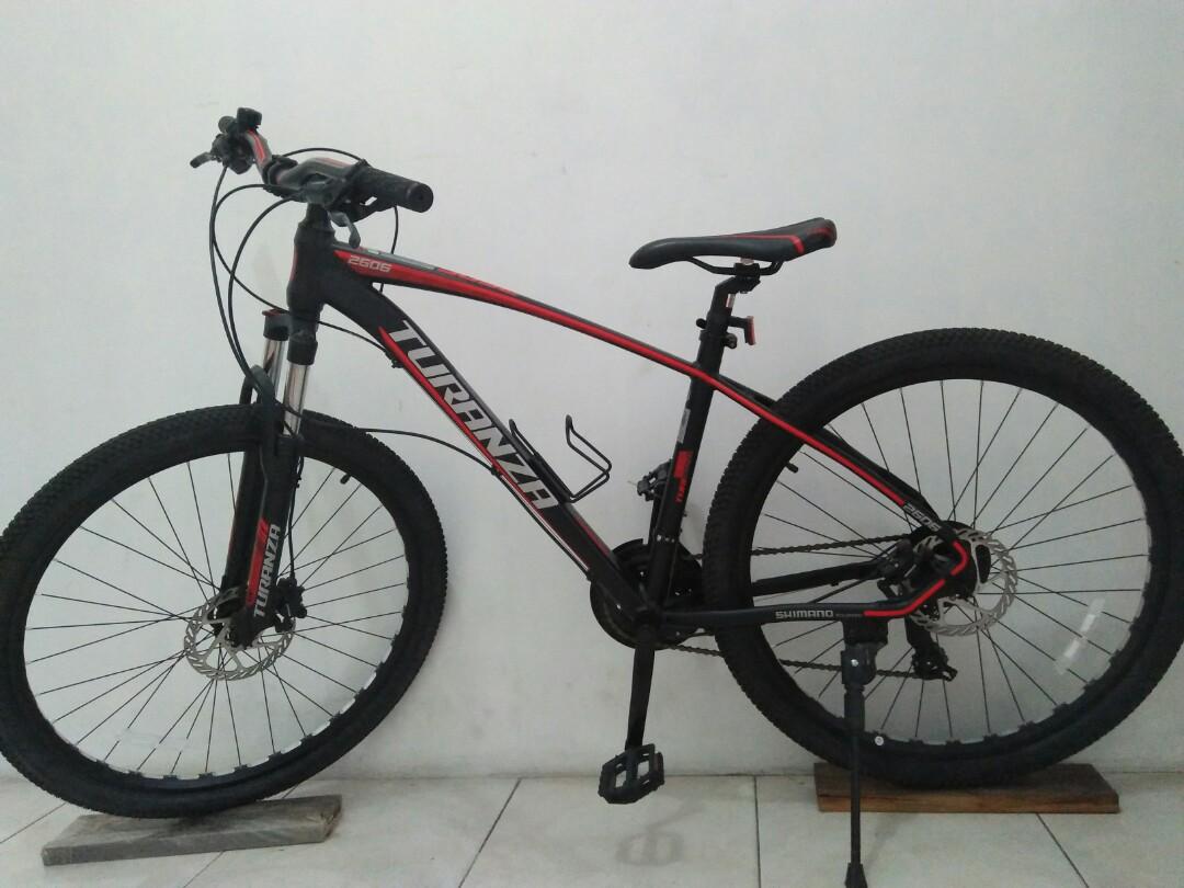Harga Sepeda Gunung Turanza 2606 - Arena Modifikasi