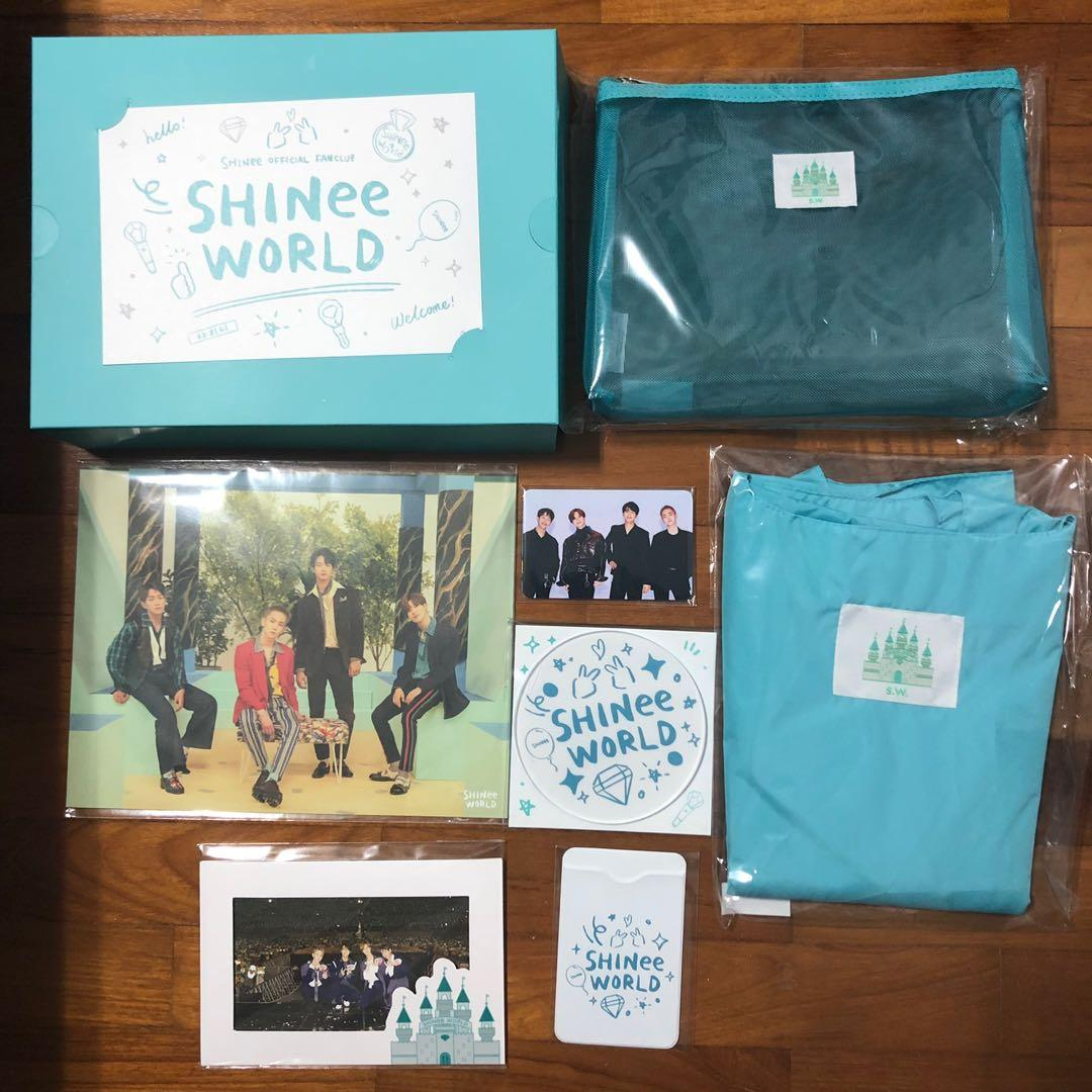 SHINee World Official Fanclub Ace Membership Welcome Kit