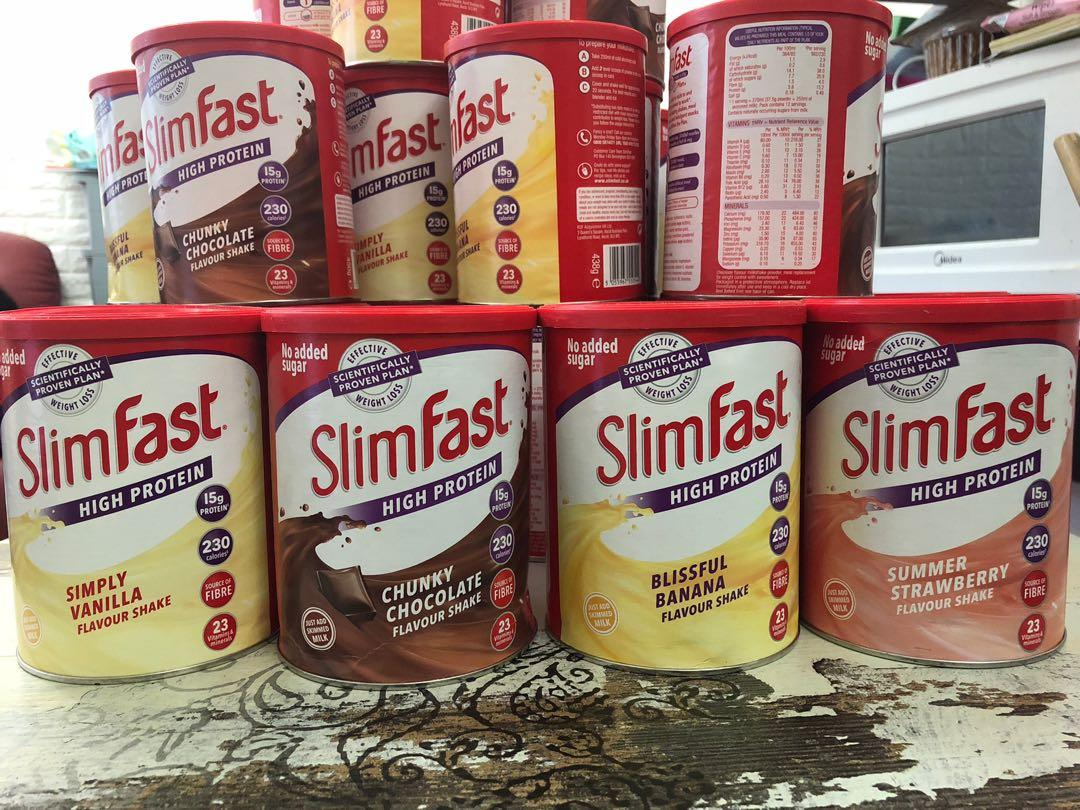 Slim Fast 減肥代餐 英國直送 6款口味 到貨了 現貨發售