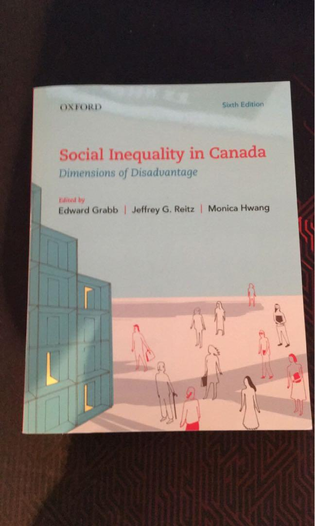 Social Inequality in Canada - Dimensions of Disadvantage