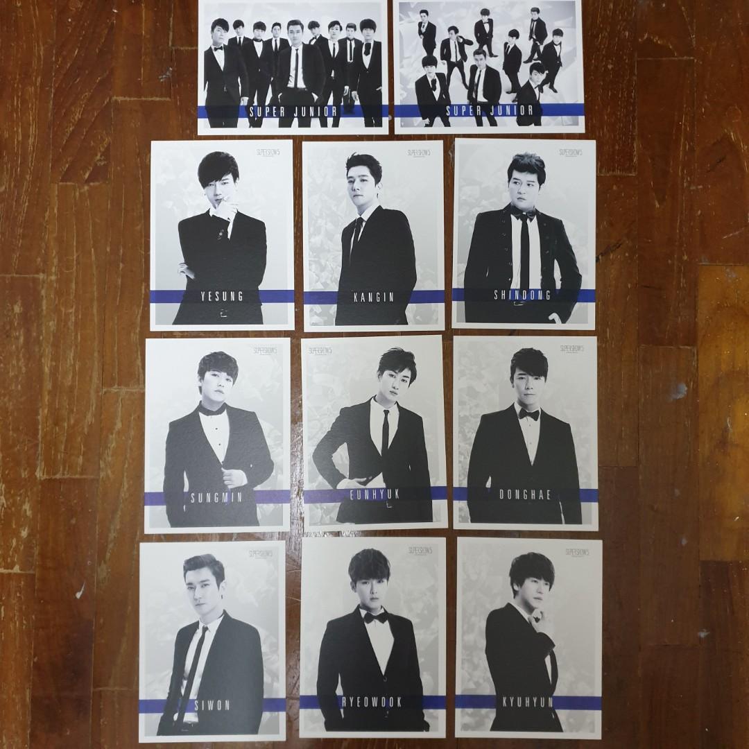 Super Junior SS5 Postcard Set