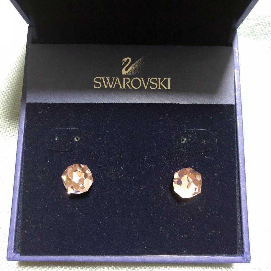 Swarovski Pierced Points Of Light Earrings On Carou
