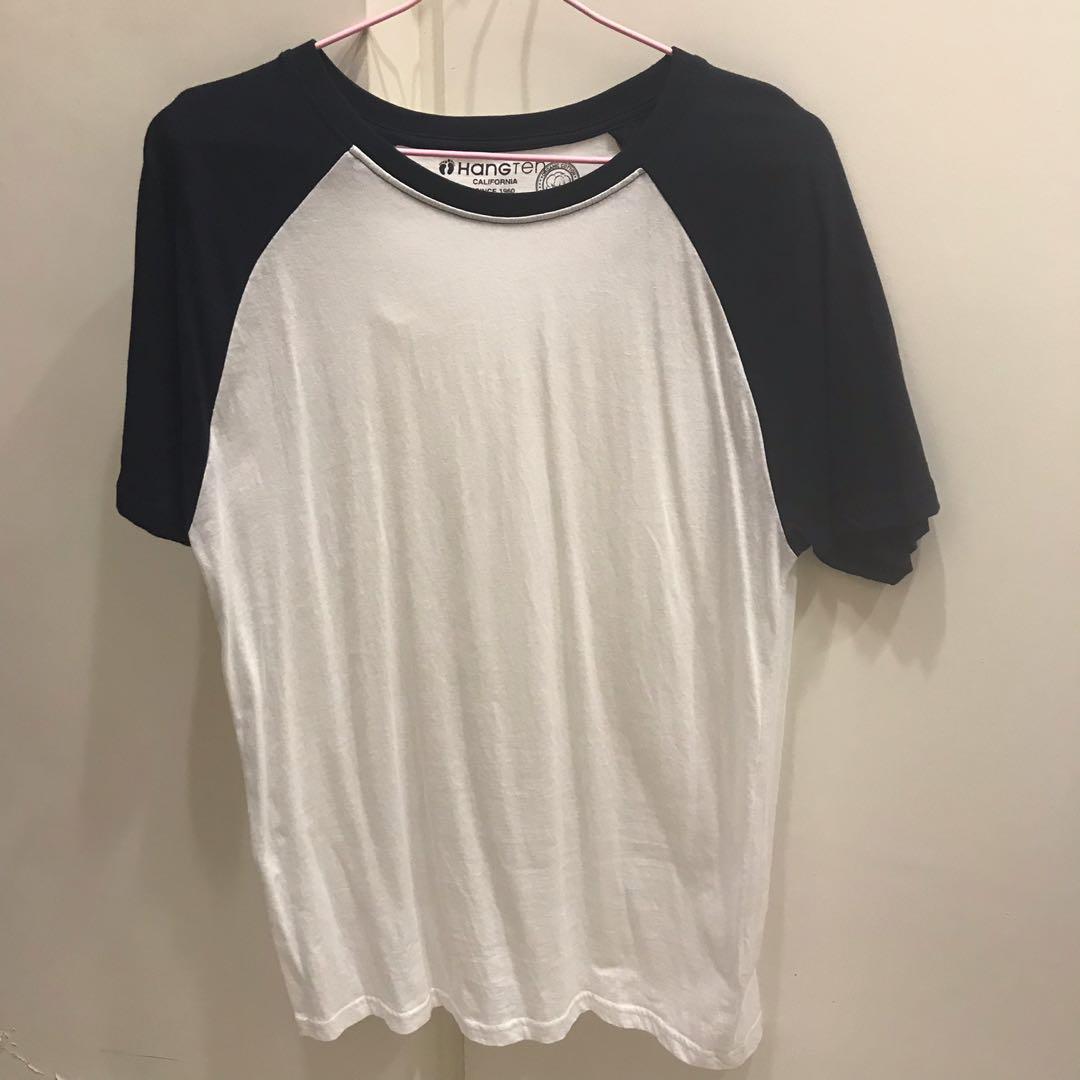 雙色短袖T恤