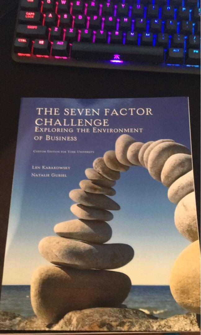 The Seven Factor Challenge - Exploring The Environment of Business