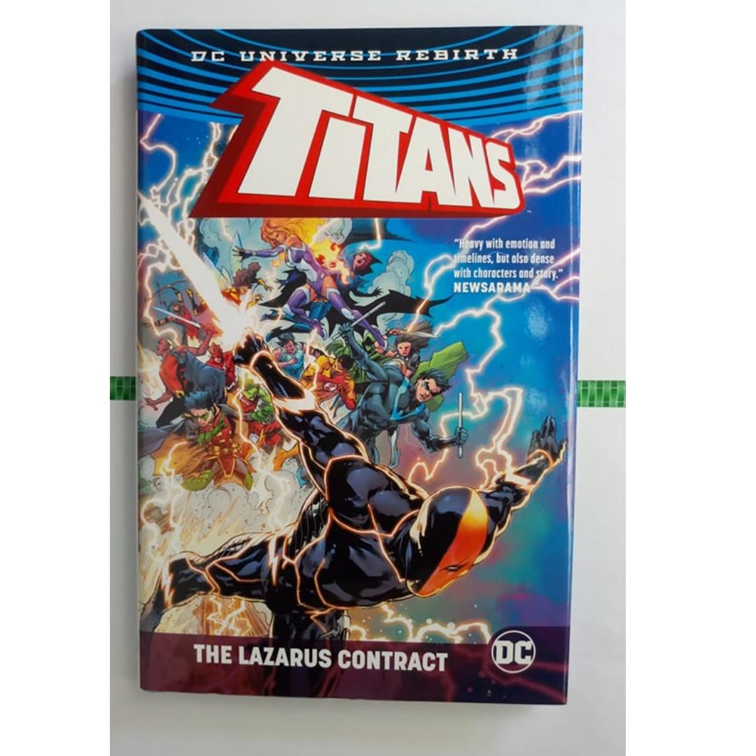 Titans: The Lazarus Contract by Dan Abnett & Christopher Priest - Oversized hardcover