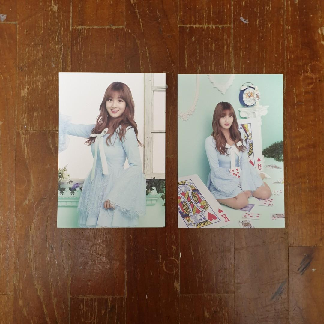 TWICE Jihyo Twiceland Postcard Set