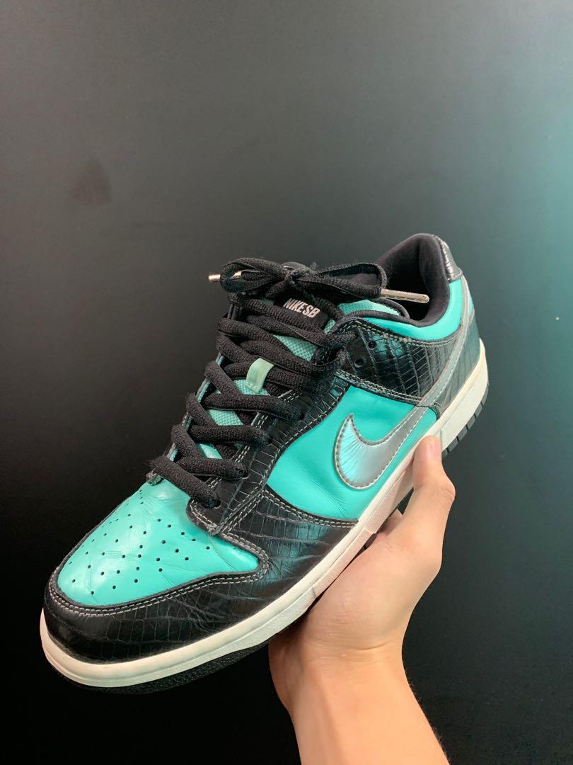 promo code 4c2fc 1ef12 US11.5] Nike SB Dunk Low Tiffany, Men's Fashion, Footwear ...