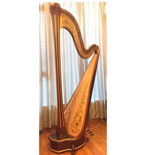 Venus Concert Grand Diplomat Harp 豎琴❤️