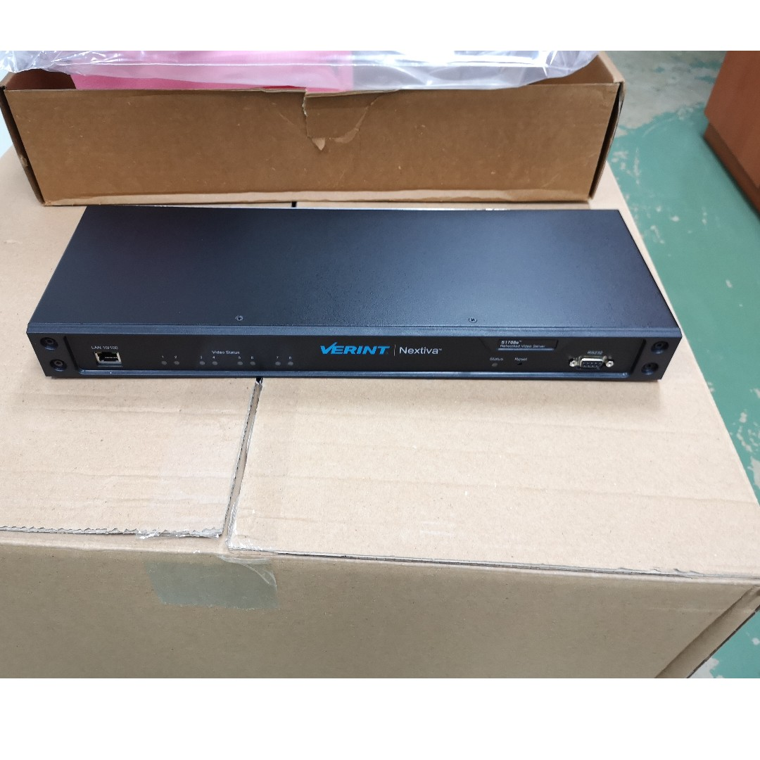 Verint Nextiva S1708e-T Networked Video Server, Electronics