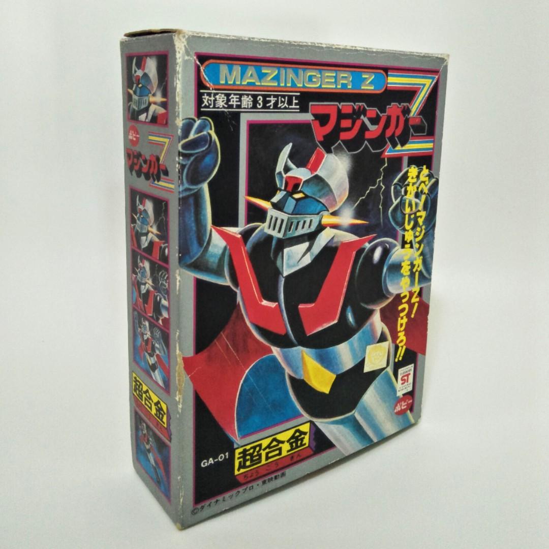 Vintage POPY 1970s Mazinger Z Robot CHOGOKIN GA-01 SHOGUN