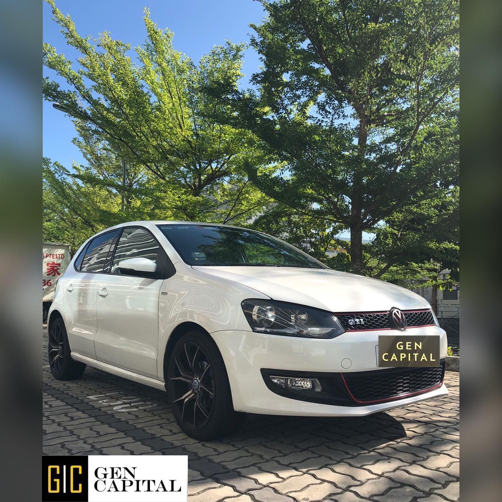 Volkswagen Polo 1.4A Affordable Rental Car Svs, Grab Gojek Ryde Tada & Non PHV