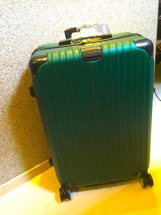 Empire Green Luggage bag 26""