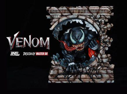 Marvel Comics INF Studios Toys Master Du Venom Resin Statue Spider-man Toys New Spiderman