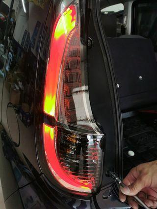 Myvi Lagi Best Taillamp Light bar design