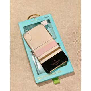 iPhone X Case Casing (Original Kate Spade Multicolor)