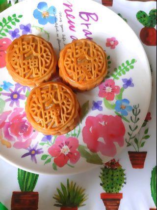 玫瑰花月餅 自家製