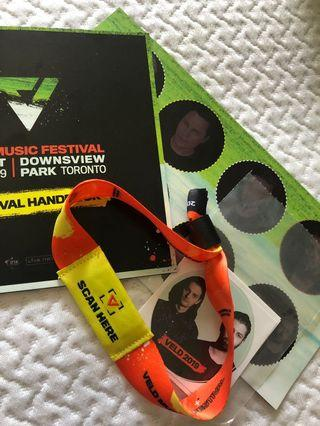UNREGISTERED 2-DAY GA VELD WRISTBAND