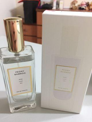 Brand new in box Peony & Bamboo EDT 30ml (Rose, Lilac and Iris notes)