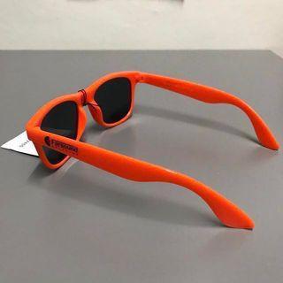 Pilot Aviation UV 400 Neon Orange Farsound Shades Sunglasses SLEEK HIGH QUALITY