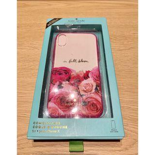 iPhone X Case Casing (Kate Spade In Full Bloom)
