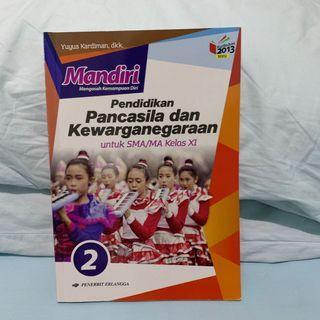 Buku Mandiri PPKN Jilid 2 SMA Kelas XI Kur. 2013 Revisi