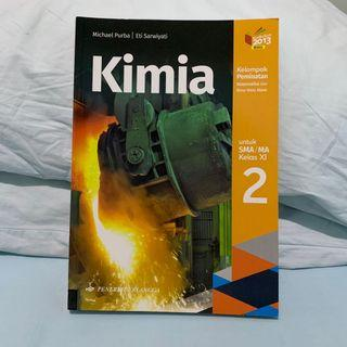 Buku Kimia Jilid 2 SMA Kelas XI Kur. 2013 Revisi (NEW!)