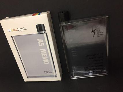 A5 memo bottle