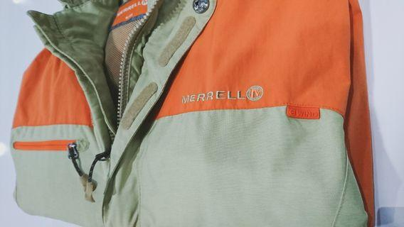 MERRELL detachable hoodie WIND jacket