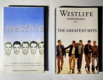 2 Kaset Pita Original - Westlife - Westlife, Unbreakable Vol 1