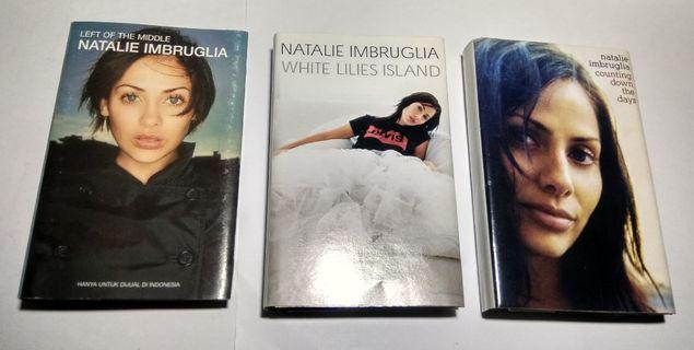 3 Kaset Pita Original - Natalie Imbruglia - Left of The Middle, White Lilies Island, Counting Down The Days