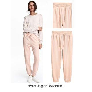 H&M jogger powder pink