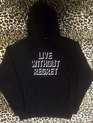 Live Without Regret Hoodie
