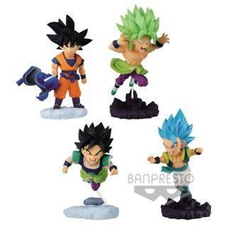 PRE ORDER December - Dragon Ball Super: Broly World Collectable Diorama Vol.4 Set of 4 Figures